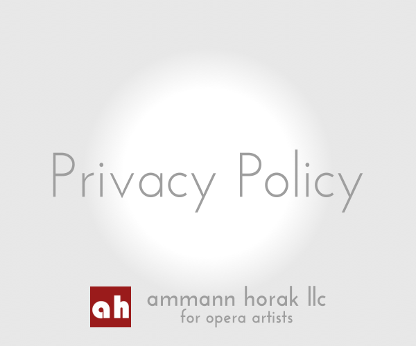 ammann horak agency image legal privacy policy en